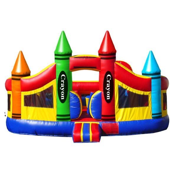 Big Crayon Bounce House (XZ-BH-002) 1
