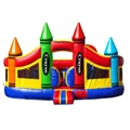 Big Crayon Bounce House (XZ-BH-002)
