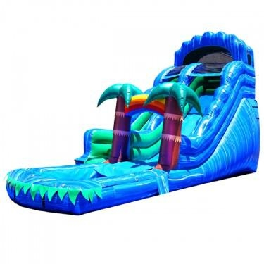Jungle Adventure Inflatable Slide 1