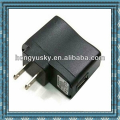 US plug 5V 500mA ac to dc power adapter