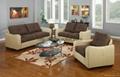 Modern corner living room genuine