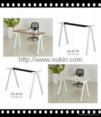 Office table leg steel Metal laser cut Stainless steel dining table legs
