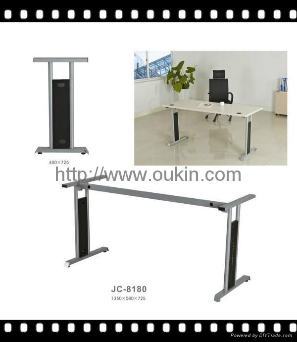 Office table leg steel Metal laser cut Stainless steel dining table legs 2
