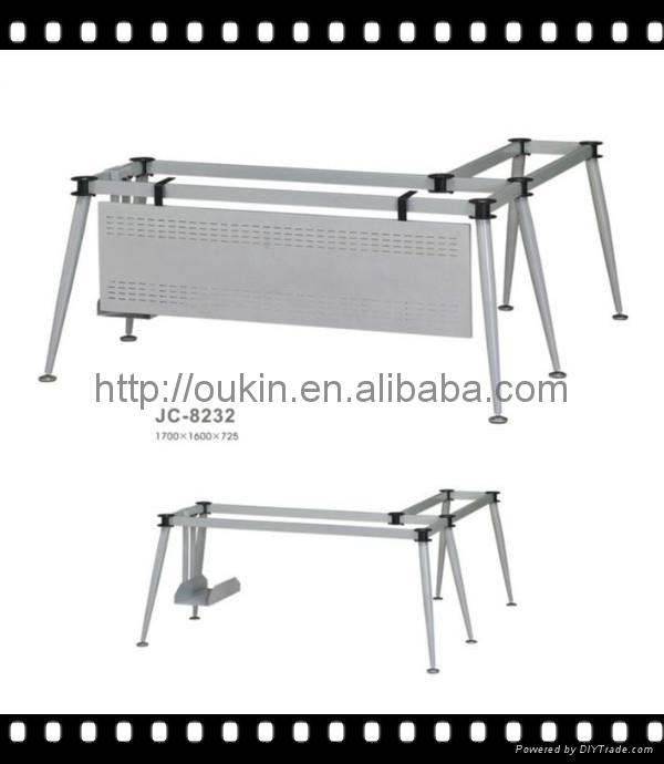 Office table leg steel Metal laser cut Stainless steel dining table legs 3