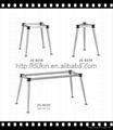 Office table leg steel Metal laser cut Stainless steel dining table legs 4