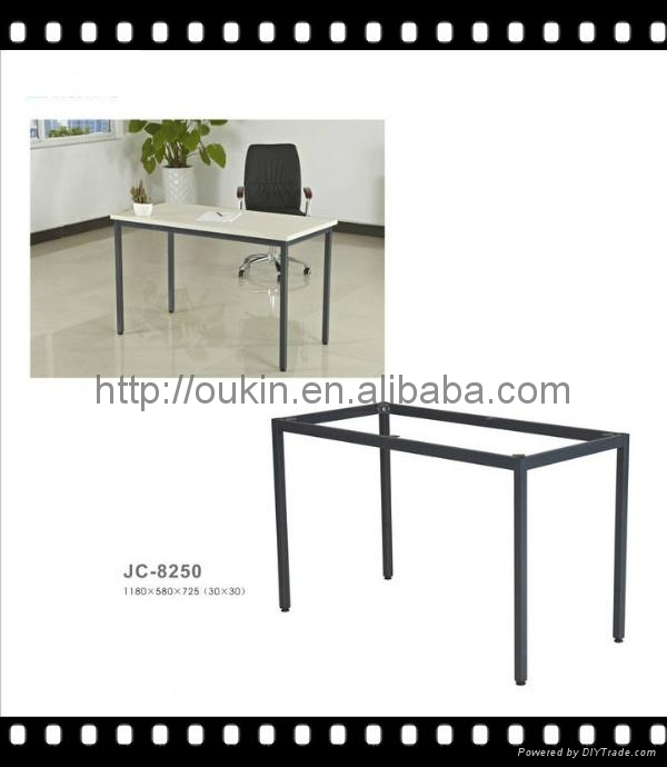 Office Table Leg Steel Metal Laser Cut Stainless Dining Legs 5