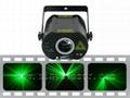 30mW green disco laser show light