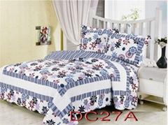 Cotton Patchwork Quilts Duvet Cover Set Bedding Set