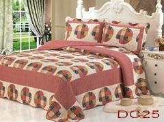 100% Cotton Patchwork Quilt 3PCS & 4 PCS Bed Setting