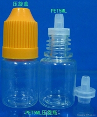 Squeeze Rotary dropper bottles