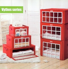 Non-woven Fabric Clothing Storage Box With Window