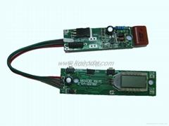 LCD液晶顯示直發器控制板