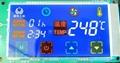 彩屏觸摸定時調溫香爐控制板 1