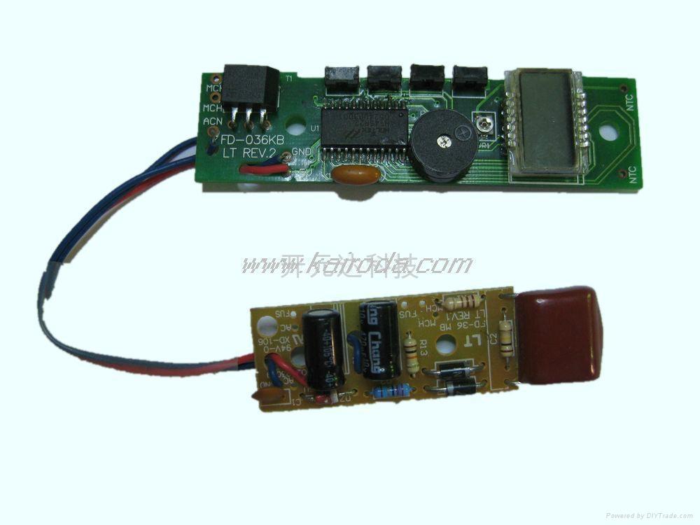 LCD液晶顯示直發器控制板 1
