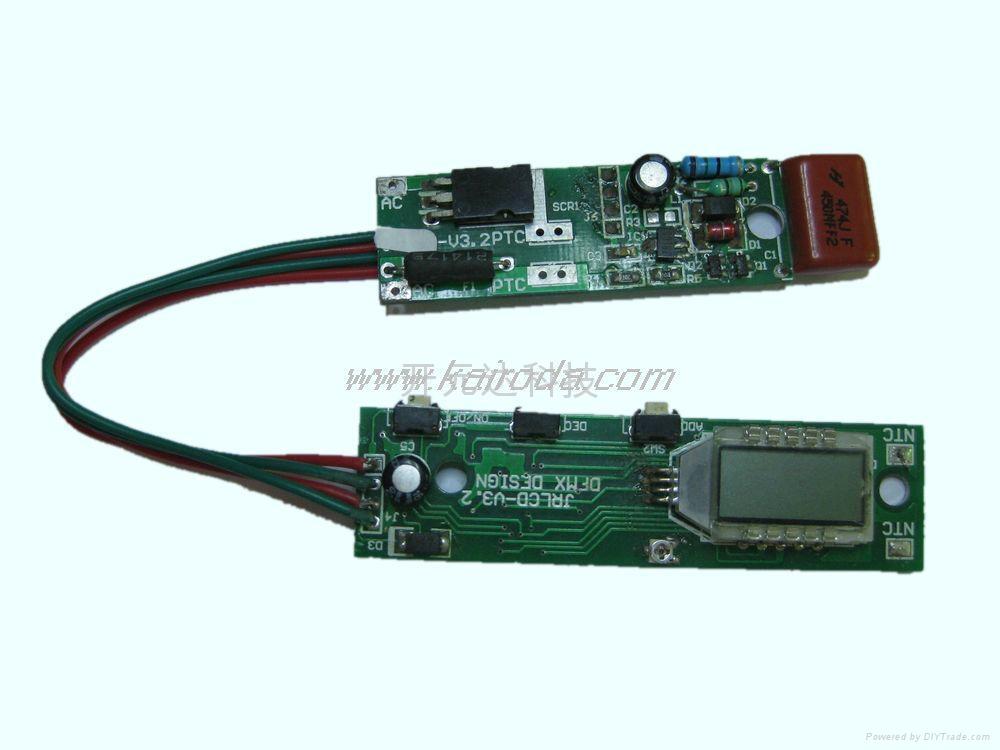 LCD液晶顯示直發器控制板 2