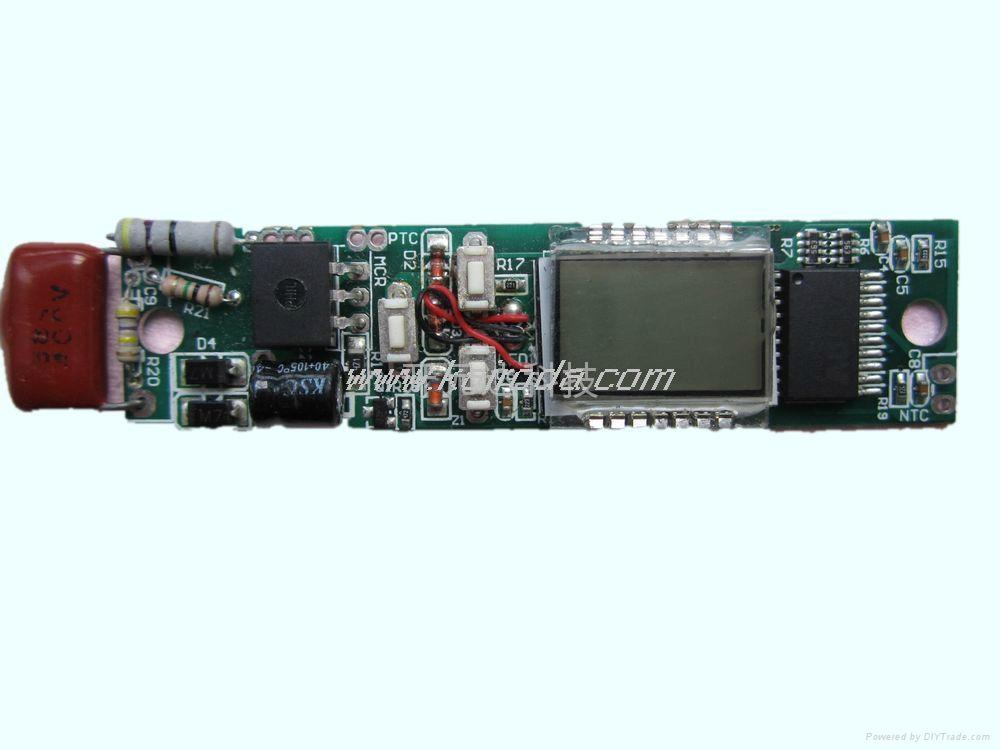 LCD液晶顯示直發器控制板 5