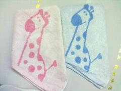 竹纤维童巾