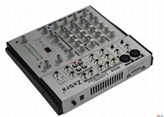 China Cheap DJ Mixer Audio Speaker Pro Mixer
