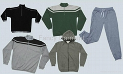 Fleece hoodie jacket shirts