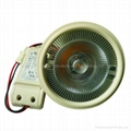 18W AC100-240V with Cree Sharp Sharp COB Ar111 Lamp G53  1