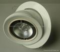 12W15W Epistar Chips Rotating COB Downlight 2