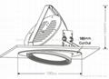 12W15W Epistar Chips Rotating COB Downlight 4