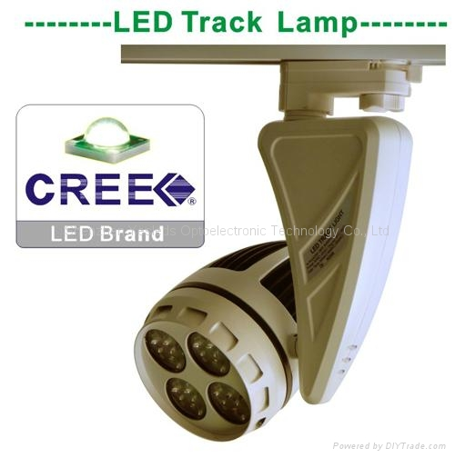 45W 2 Line 3Line 4Line Head Rail LED COB Track Spotlight 4