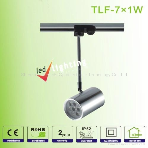5W 9W 12W 15W 27W 2 line 3line 4line head Rail LED Track Light 2