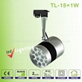 5W 9W 12W 15W 27W 2 line 3line 4line head Rail LED Track Light 3