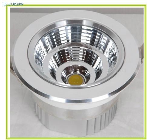 LED COB downlight 20W 18W 15W 10W 5W 4