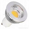 5w led cob mr16 gu10 spotlight bulb