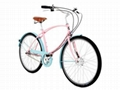 26Inch Tube Rider (Pink and Turquoise) 1
