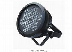 72 pcs LED PAR lamp