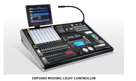 EXP5000 MOVING LIGHT CONTROLLER 1
