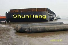 CANS certified marine rubber balloon for ship