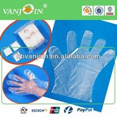 1.6g -2.5g Transparent CPE Gloves