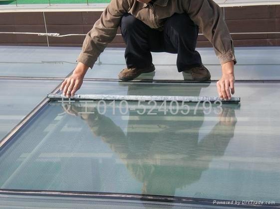 玻璃透明隔熱塗料 1
