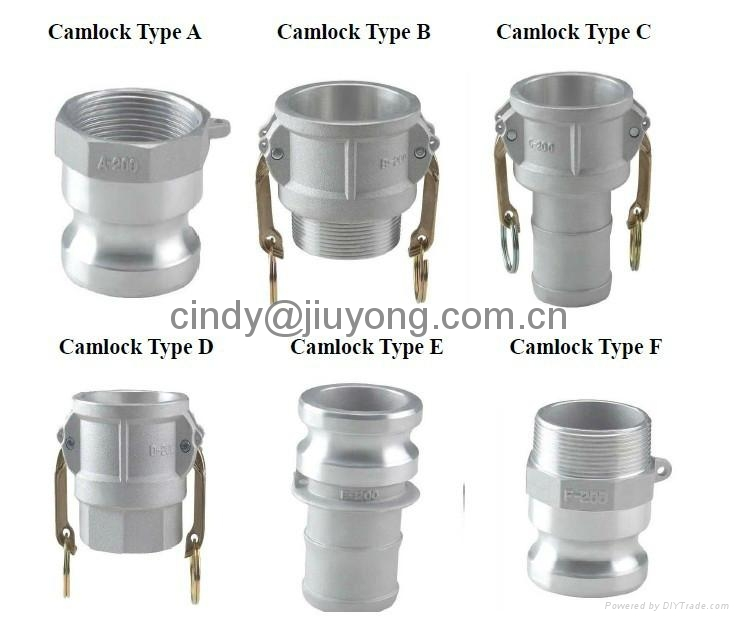 Camlock type c quick coupling jiuyong china