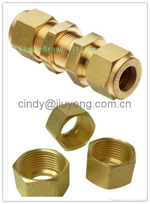 Hydraulic brass fitting jiuyong china manufacturer