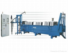Magnesium alloy ingot casting machine