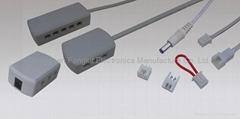 Jst 24 led lighting mini connecting system
