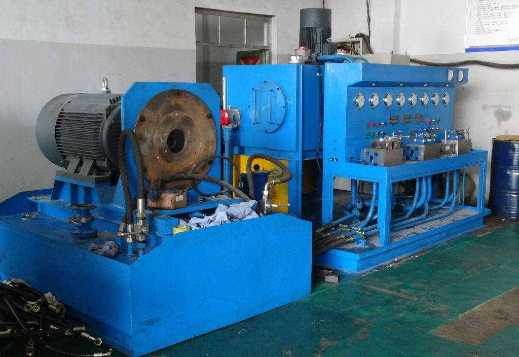 hydraulic pump and motor test machine 2