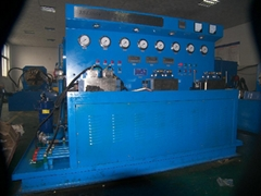 hydraulic va  e repair machine
