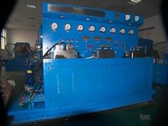 hydraulic valve repair machine