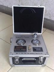 portable hydraulic pump pressure repaire gauge