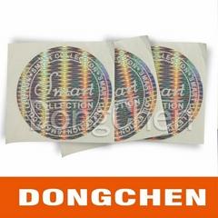 2013 High quality dot matrix hologram stickers