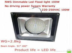 Dimmable Led Floodlights-100W