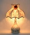 Natural shell craftsmanship table lamp in original design
