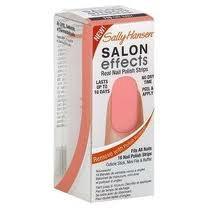Sally Han_sen Salon Effects Real Nail Polish Strips Wild Child 1