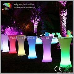 LED Light Bar Table